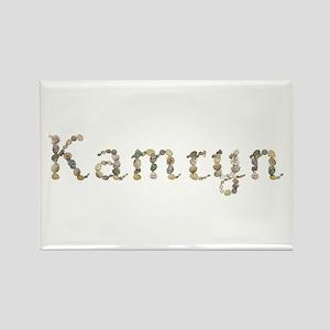 Kamryn Seashells Rectangle Magnet