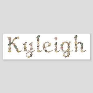 Kyleigh Seashells Bumper Sticker