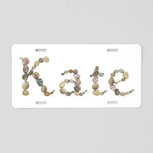 Kate Seashells Aluminum License Plate
