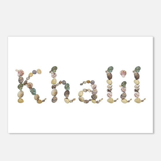 Khalil Seashells Postcards 8 Pack