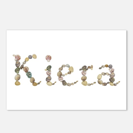 Kiera Seashells Postcards 8 Pack