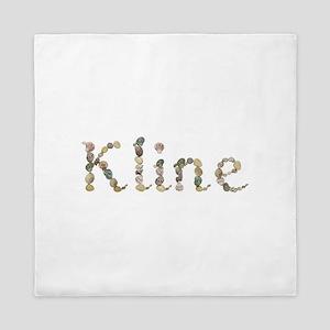 Kline Seashells Queen Duvet