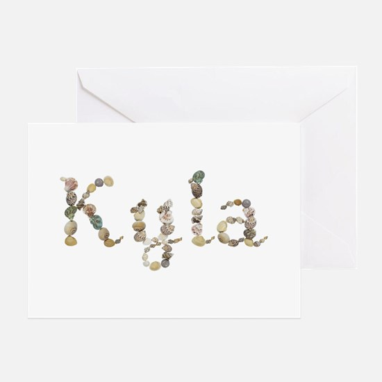 Kyla Seashells Greeting Card