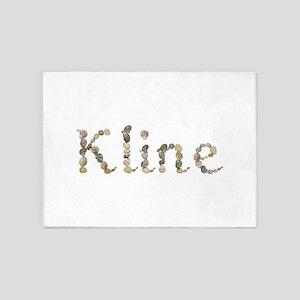 Kline Seashells 5'x7' Area Rug