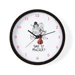 Suzuki Violin Wall Clock--Time To Practice