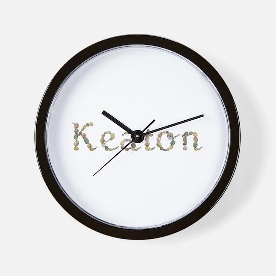 Keaton Seashells Wall Clock