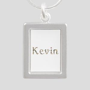 Kevin Seashells Silver Portrait Necklace