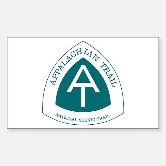 Appalachian Trail, Virginia Sticker (Rectangle)