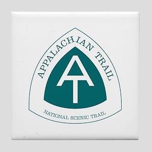 Appalachian Trail, Virginia Tile Coaster