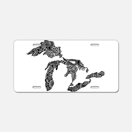 Funny Upper peninsula Aluminum License Plate