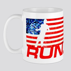 RUNNING IN THE U.S.A Mug