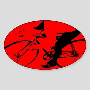 CYCLIST CREST Oval Sticker