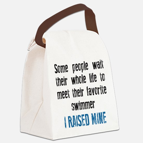 Favorite swimmer Canvas Lunch Bag