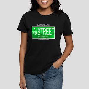 Street Mathamatix-116th Women's Dark T-Shirt