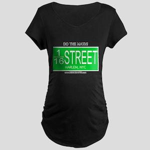 Street Mathamatix-116th Maternity Dark T-Shirt
