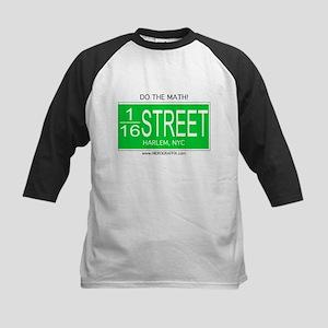 Street Mathamatix-116th Kids Baseball Jersey