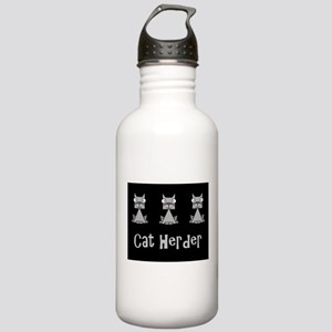 Cat Herder - job humor Stainless Water Bottle 1.0L