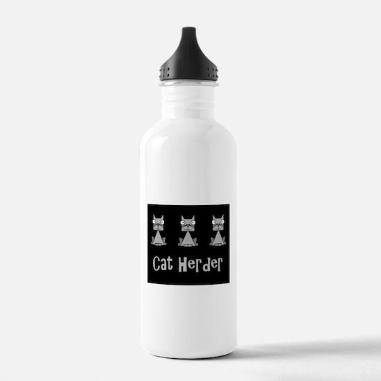 Cat Herder - job humor Water Bottle