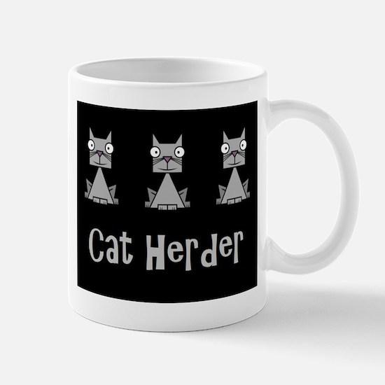Cat Herder - job humor with cats Mugs