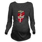 USS HAVERFIELD Long Sleeve Maternity T-Shirt