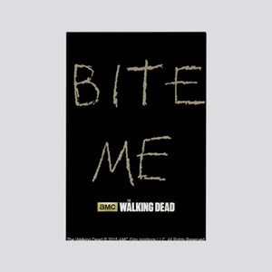 The Walking Dead Bite Me Rectangle Magnet Magnets