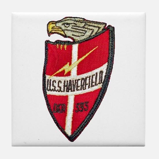USS HAVERFIELD Tile Coaster