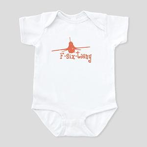 F-six-teeny -pink Infant Bodysuit