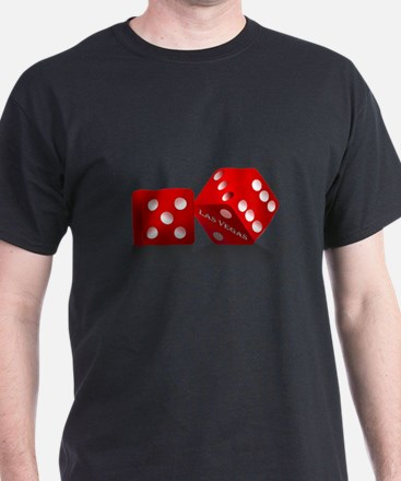 Las Vegas Red Dice T-Shirt