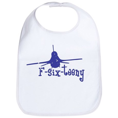 F-six-teeny -blue Bib