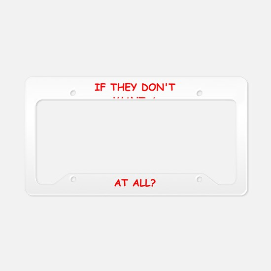 soccer License Plate Holder
