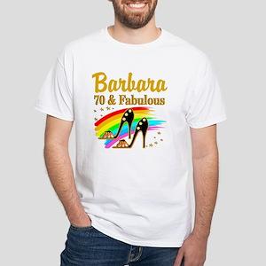 CELEBRATE 70 White T-Shirt