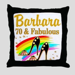 CELEBRATE 70 Throw Pillow