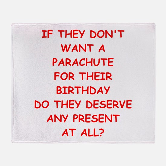 parachute Throw Blanket