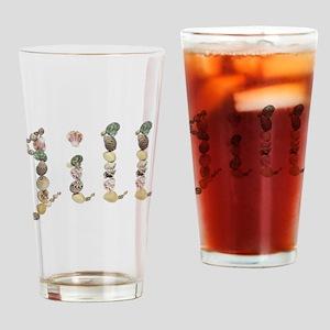 Jill Seashells Drinking Glass