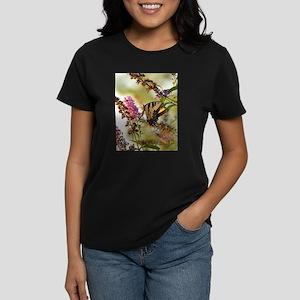 Butterfly on butterfly bush T-Shirt