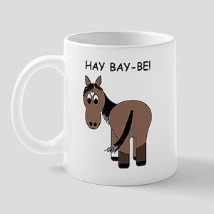 Hay Bay-Be! Horse Mug
