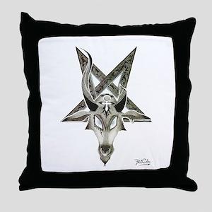 The Baphomet Throw Pillow