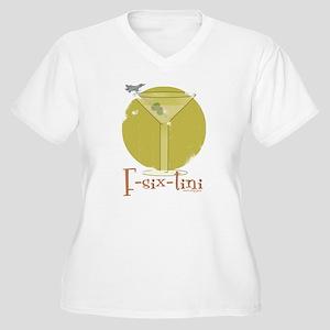 F-six-tini Women's Plus Size V-Neck T-Shirt