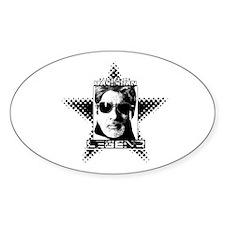 Bollywood LEGEND. Oval Sticker