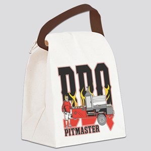 BBQ Pit master Canvas Lunch Bag