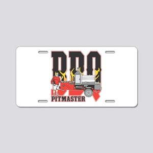 BBQ Pit master Aluminum License Plate