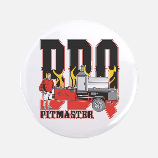 """BBQ Pit master 3.5"""" Button (100 pack)"""