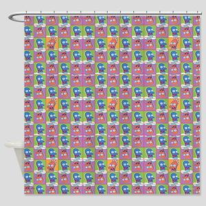 Futurama Zoidberg Pattern Shower Curtain