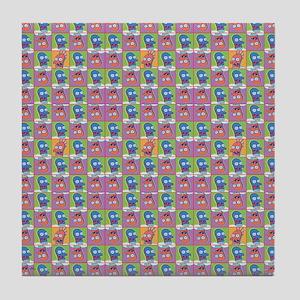 Futurama Zoidberg Pattern Tile Coaster
