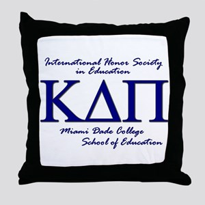 KDP-Blue Throw Pillow