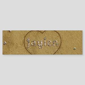 Jaylen Beach Love Sticker (Bumper)