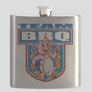 Team Pork BBQ Flask