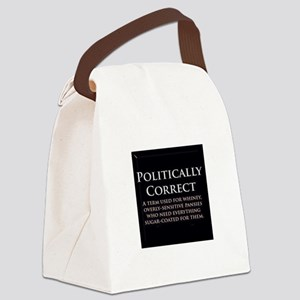 Politically Correct Canvas Lunch Bag