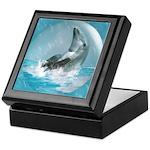 Bubble Dolphin Keepsake Box