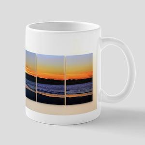 Ocean Sunrise Triptych Mugs